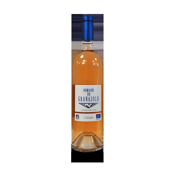 Monika rosé vin de Corse