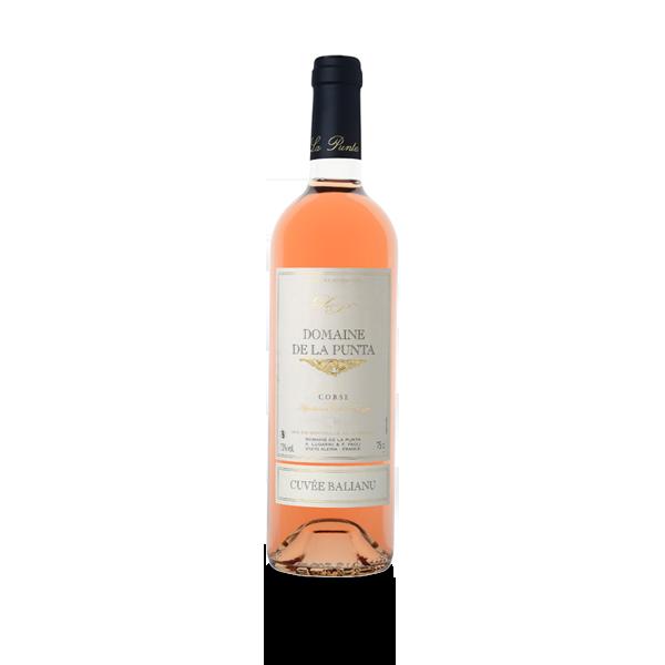 Ballianu rosé vin de Corse