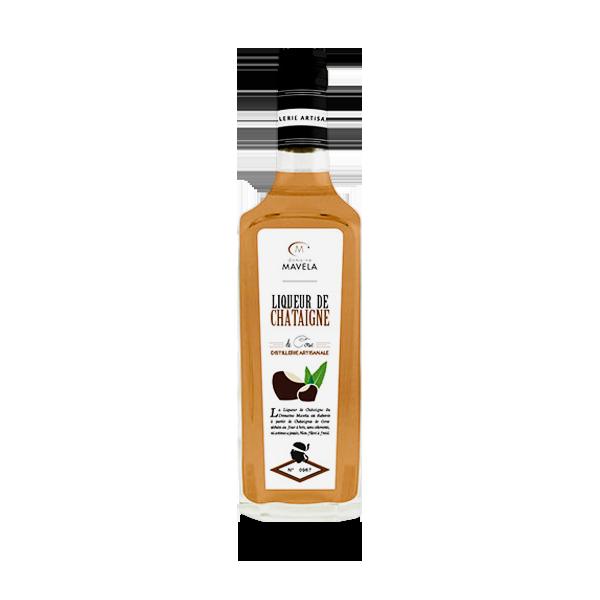 Liqueur de chataignes séchées au four à bois Natura Corse