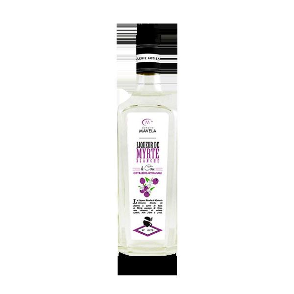 Liqueur de myrthe blanche - baies sauvages Natura Corse