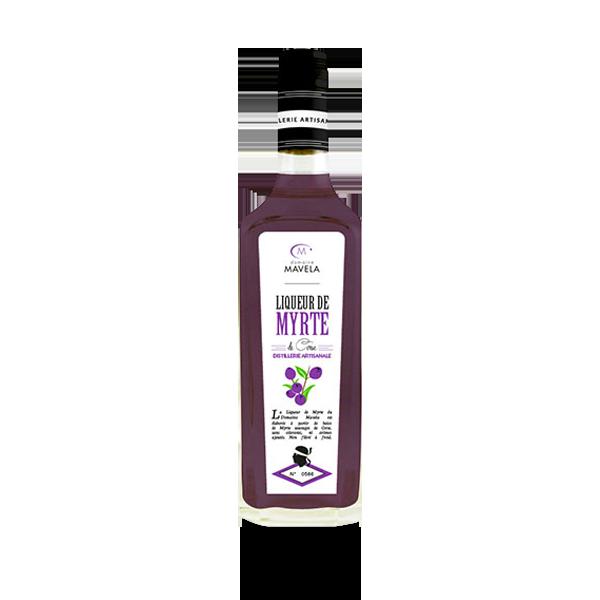 Liqueur de myrthe rouge - baies sauvages Natura Corse