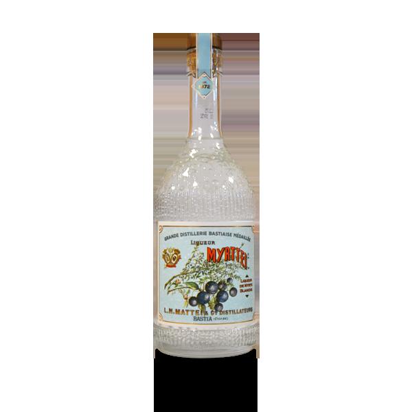 Myrthe blanche liqueur de Corse