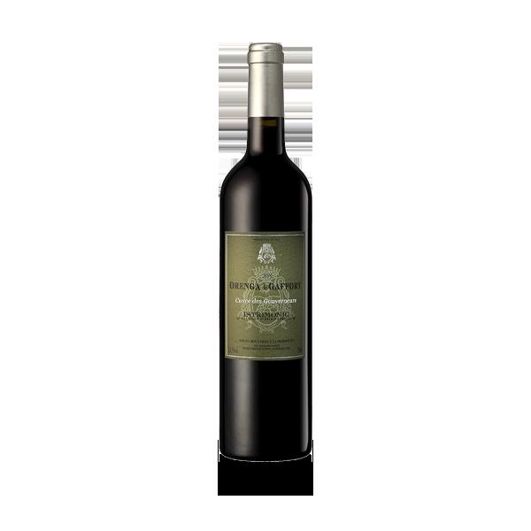 Cuvée des gouverneurs rouge vin de Corse